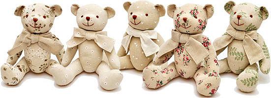 Мягкие медведи kubeba